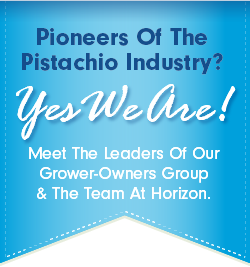 At Horizon, we are pioneers of the pistachio industry. Meet the leaders of our grower-owned group.
